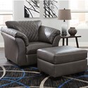 Signature Design by Ashley Betrillo Chair and Ottoman Set - Item Number: 4050320+14