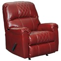 Signature Design by Ashley Betrillo Rocker Recliner - Item Number: 4050425