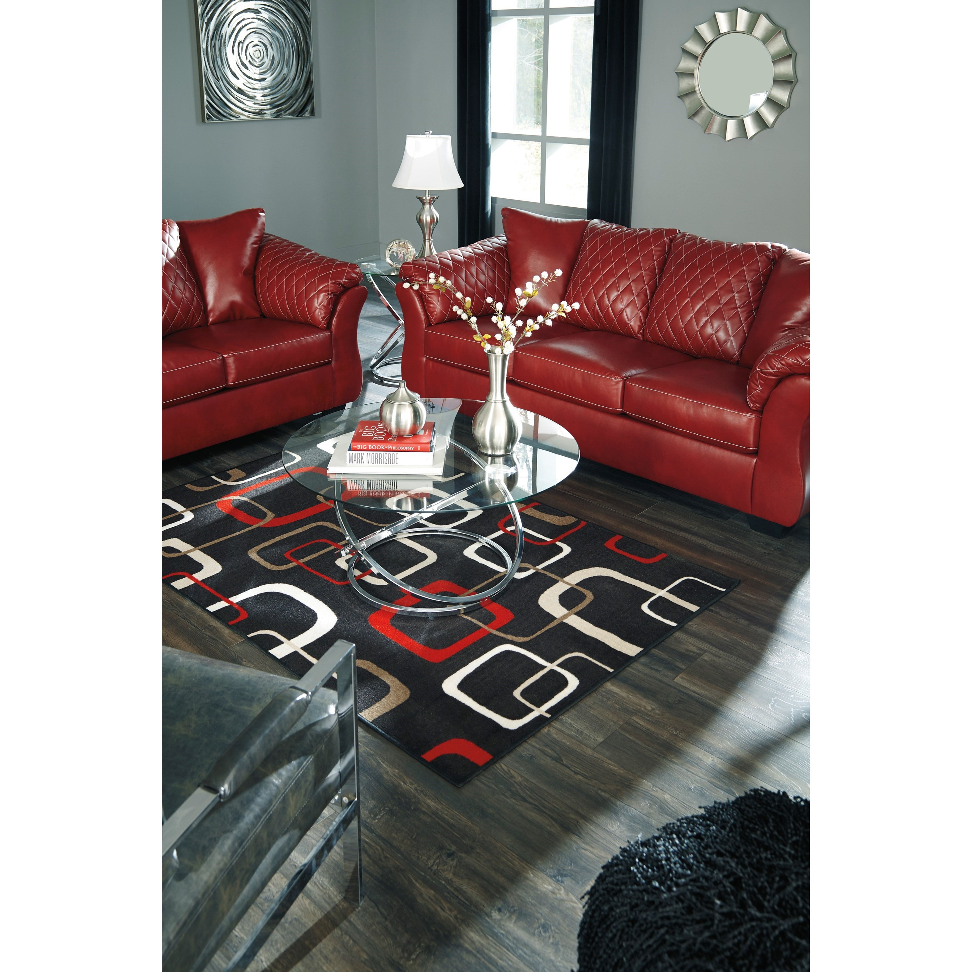 Ashley Furniture Texas Locations: Signature Design By Ashley Betrillo Contemporary Sofa With
