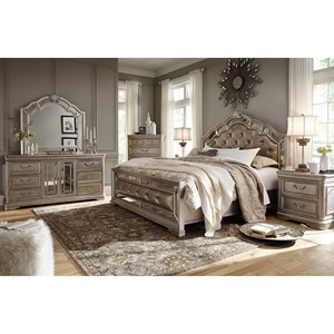 Signature Design by Ashley Birlanny California King Bedroom Group