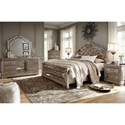 Signature Design by Ashley Birlanny King Bedroom Group - Item Number: B720 K Bedroom Group 1