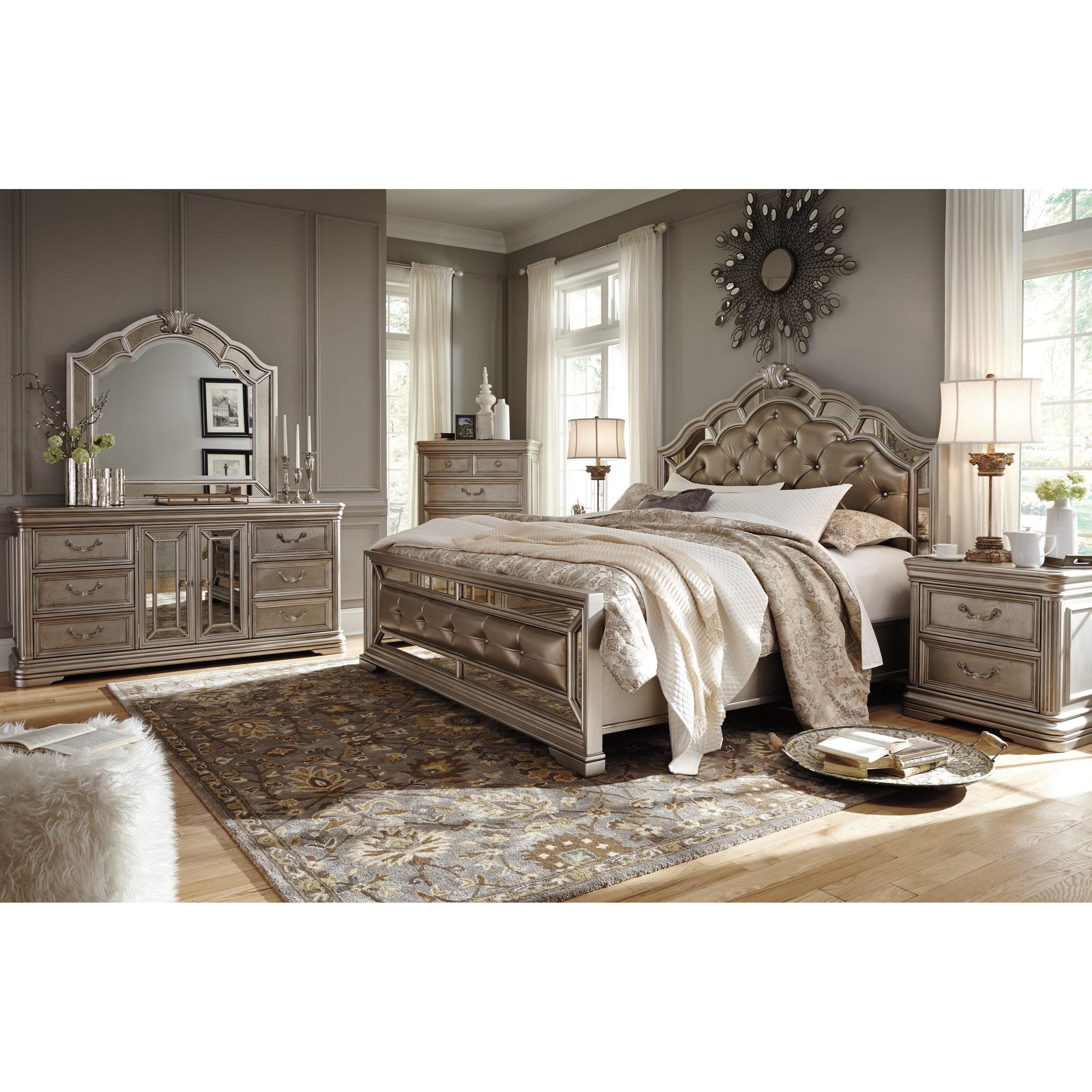 Ashley City Furniture: Signature Design By Ashley Birlanny Five Drawer Chest In