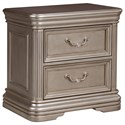 Signature Design by Ashley Birlanny Two Drawer Night Stand - Item Number: B720-92