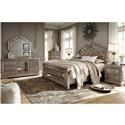 Signature Design by Ashley Birlanny King Bedroom Group - Item Number: KING B+D+M+NS
