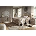 Signature Design by Ashley Birlanny Queen Bedroom Group - Item Number: Queen B+D+M+NS