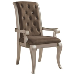 Signature Design by Ashley Birlanny Dining Upholstered Arm Chair