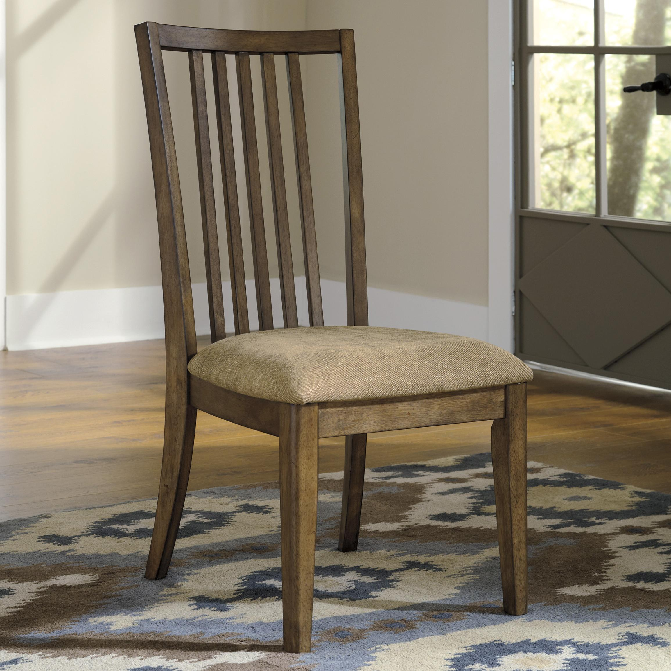 Signature Design by Ashley Birnalla Dining Upholstered Side Chair - Item Number: D585-01