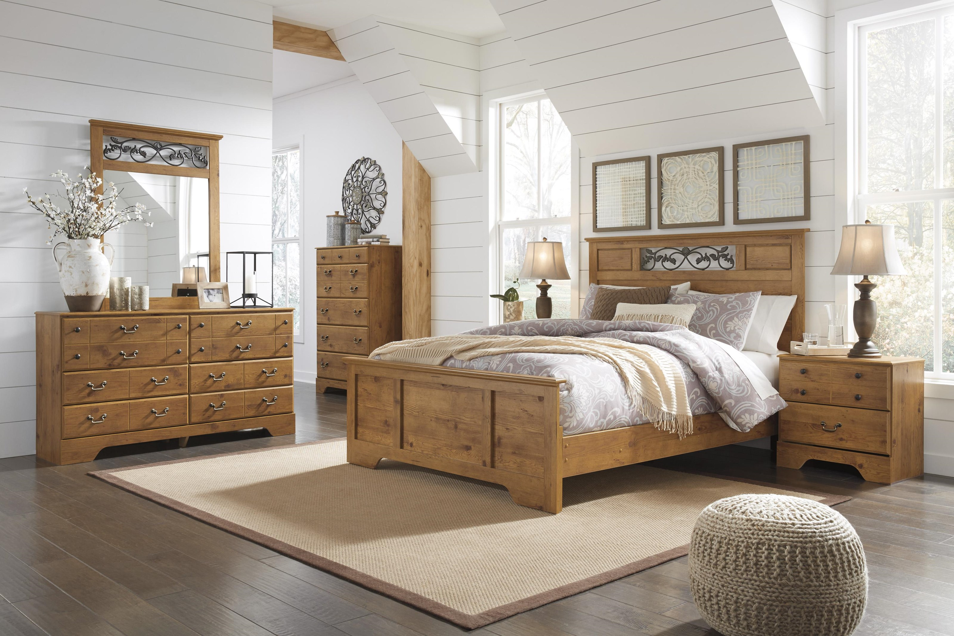 Bittersweet Queen bedroom group by Signature Design by Ashley at Value City Furniture