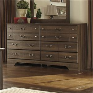 Ashley (Signature Design) Allymore 6 Drawer Dresser