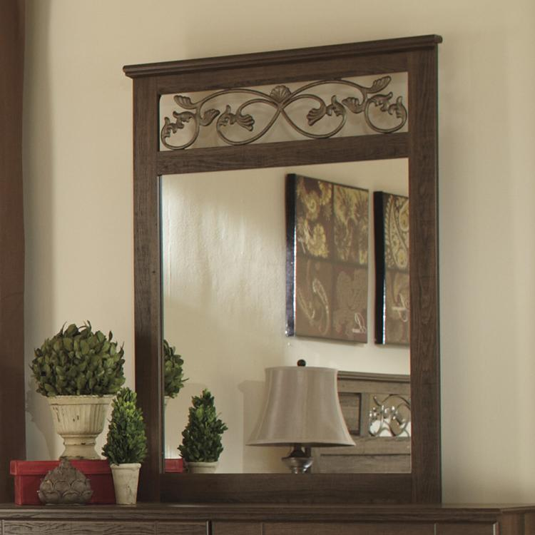 Ashley (Signature Design) Allymore Bedroom Mirror - Item Number: B216-36