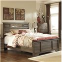 Signature Design by Ashley Allymore Queen Panel Bed - Item Number: B216-55+51+98