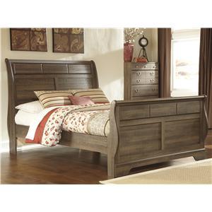 StyleLine NORMA Queen Sleigh Bed
