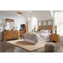 Signature Design by Ashley Bittersweet Full/Queen Bedroom Group - Item Number: B219 Full-Queen Group