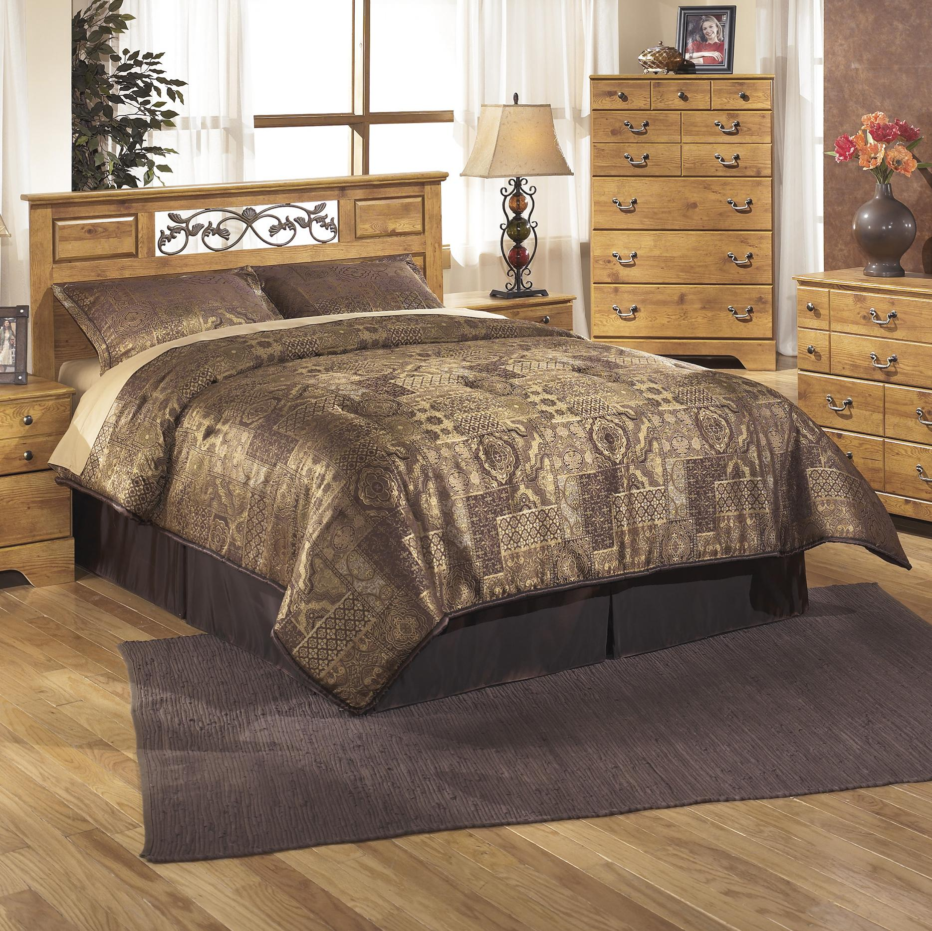 Signature design by ashley bittersweet b219 55 full queen - Ashley furniture full bedroom sets ...