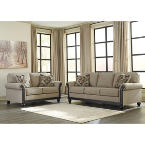 Ashley (Signature Design) Blackwood Stationary Living Room Group
