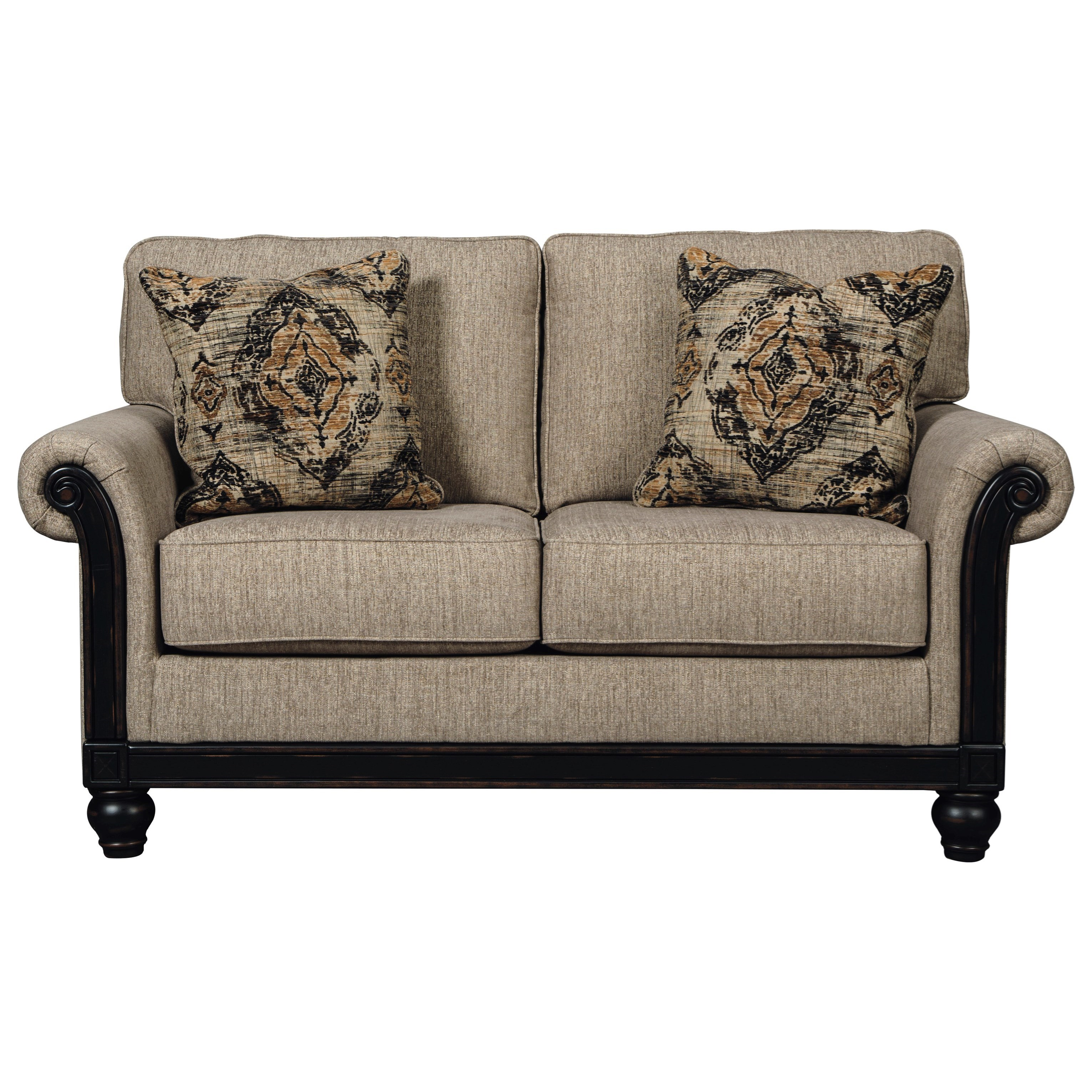 Signature Design by Ashley Blackwood Loveseat - Item Number: 3350335