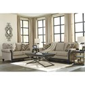 Signature Design by Ashley Blackwood Transtional Queen Sofa Sleeper with Memory Foam Mattress