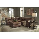 Signature Design by Ashley Bladen Stationary Living Room Group - Item Number: 12000 Living Room Group 7
