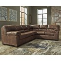 Signature Design by Ashley Bladen 3-Piece Sectional - Item Number: 1200055+46+67
