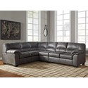 Ashley (Signature Design) Bladen 3-Piece Sectional - Item Number: 1200166+46+56