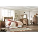 Signature Design by Ashley Blaneville Rustic Style Queen/Full Panel Headboard