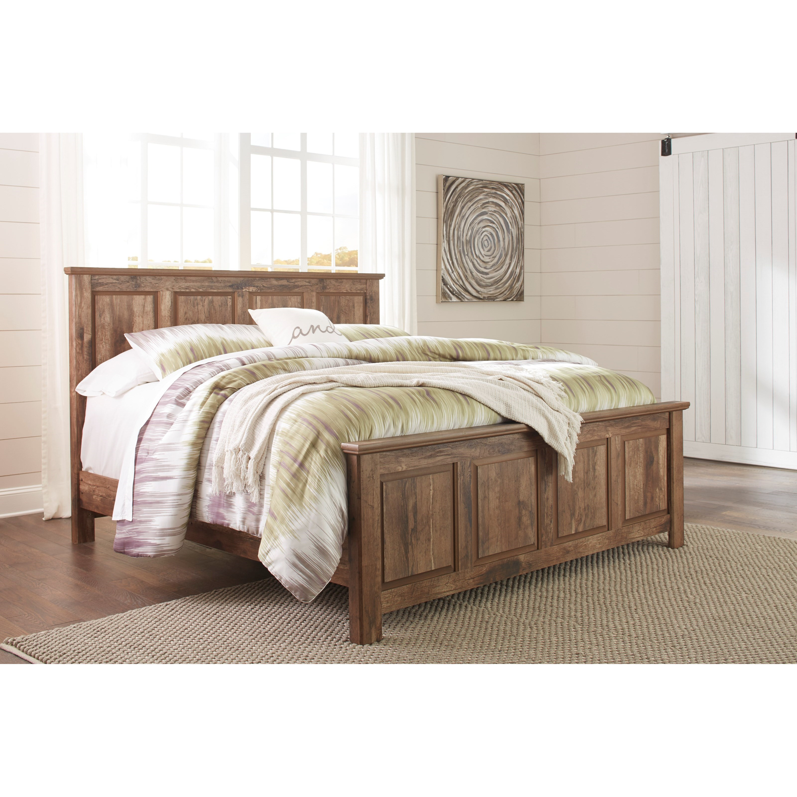 Ashley Furniture In Colorado: Signature Design By Ashley Blaneville Rustic Style King