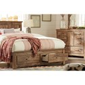 Signature Design by Ashley Blaneville King Panel Storage Bed