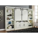 Signature Design by Ashley Blinton Relaxed Vintage 4 Piece Wall Unit