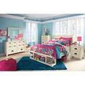 Ashley (Signature Design) Blinton Full Bedroom Group - Item Number: B523 Full Bedroom Group 1