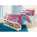 Ashley (Signature Design) Blinton Full Panel Storage Bed - Item Number: B523-87+84S+86S