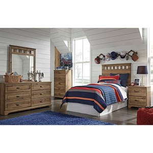 Benchcraft Brobern Twin Bedroom Group