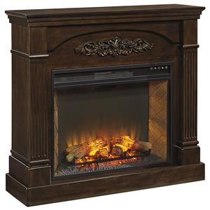 Signature Design by Ashley Furniture Boddew Fireplace Mantel