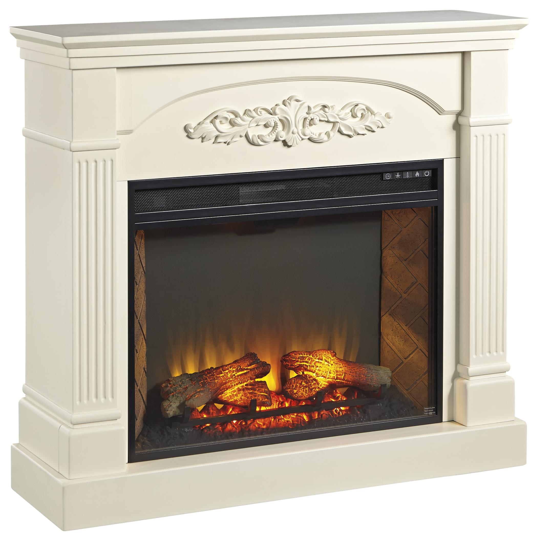 Signature Design by Ashley Boddew Fireplace Mantel - Item Number: W600-220