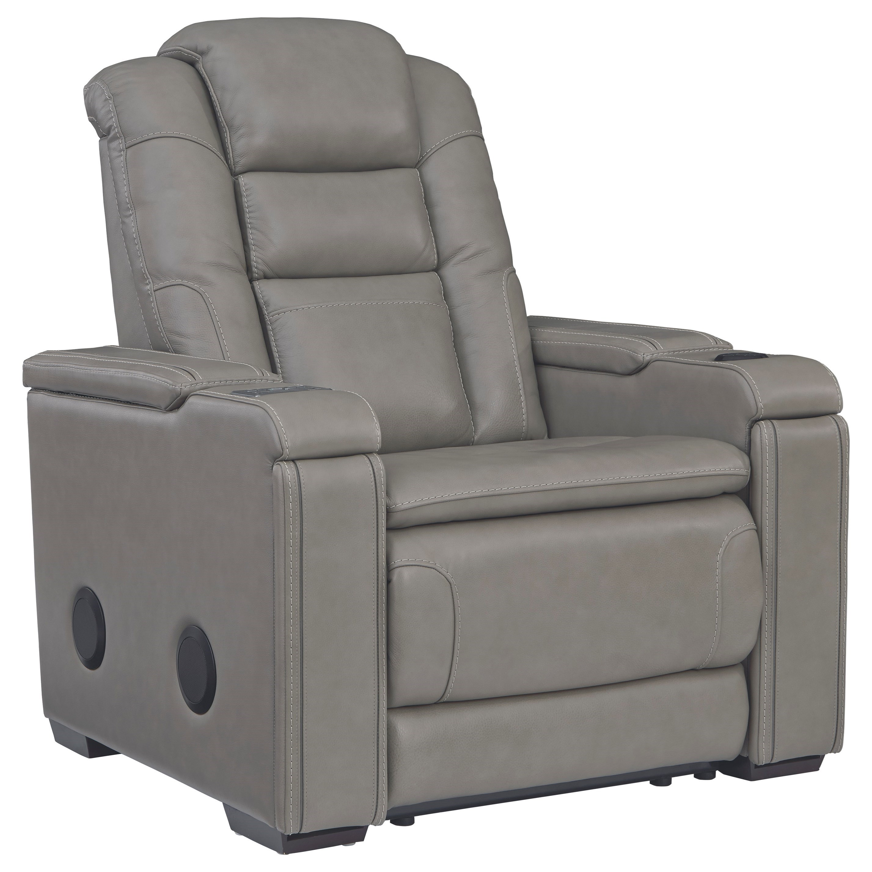 Boerna Power Recliner with Adjustable Headrest by Signature Design by Ashley at Standard Furniture