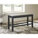 Signature Design by Ashley Tyler Creek Upholstered Dining Room Bench - Item Number: 435473602