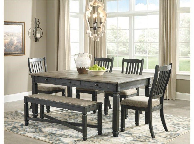 Bolanburg Tyler Creek 5-Piece Dining Set by Ashley at Morris Home