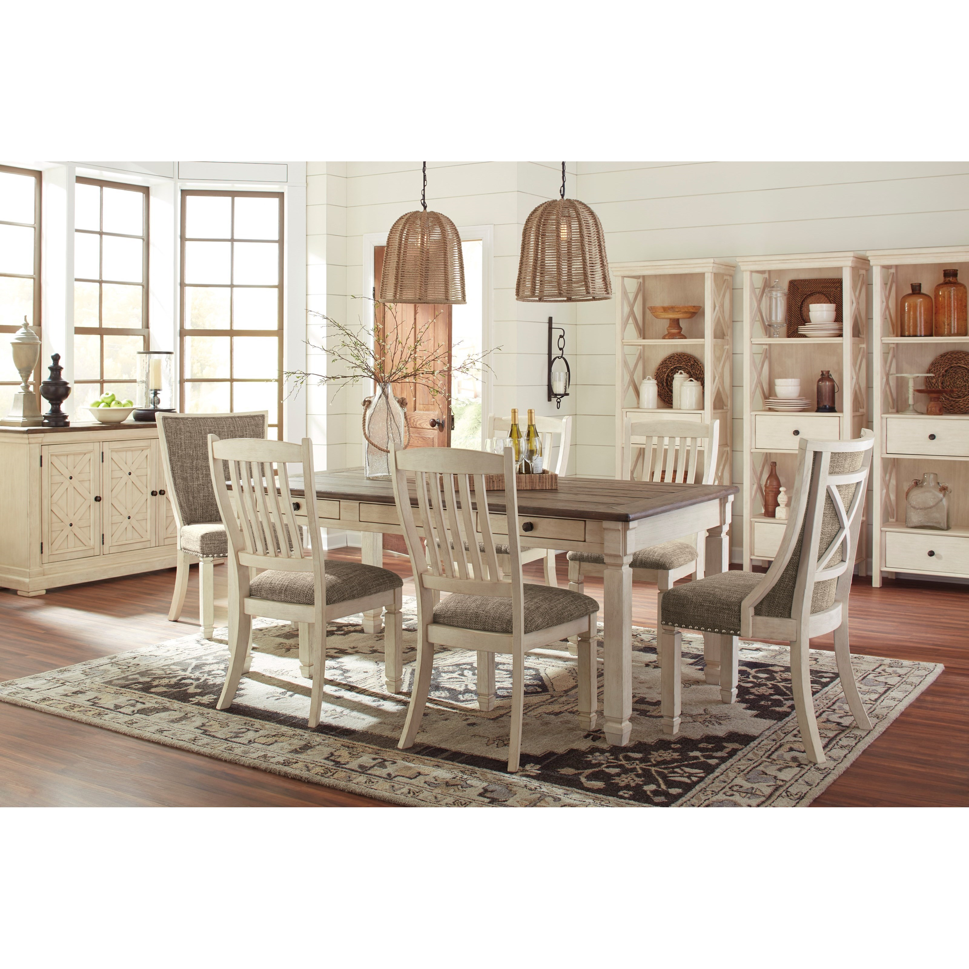 Bolanburg Formal Dining Room Group by Signature Design by Ashley at Household Furniture