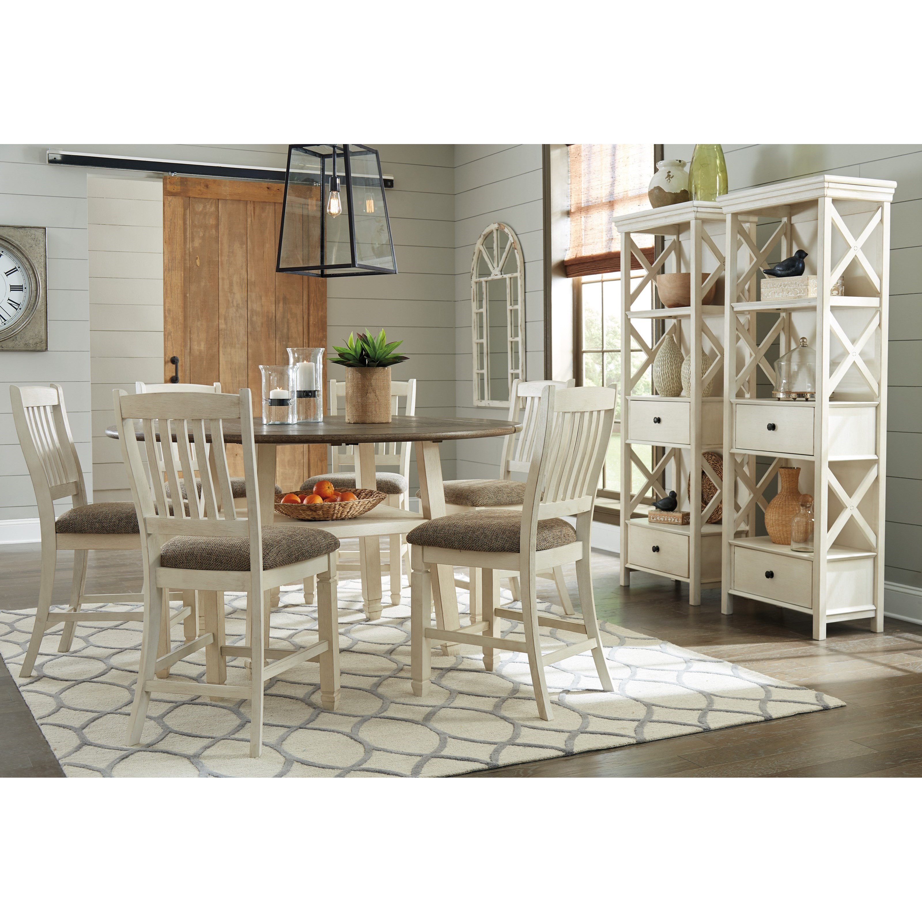 Bolanburg Formal Dining Room Group by Signature Design by Ashley at Zak's Warehouse Clearance Center