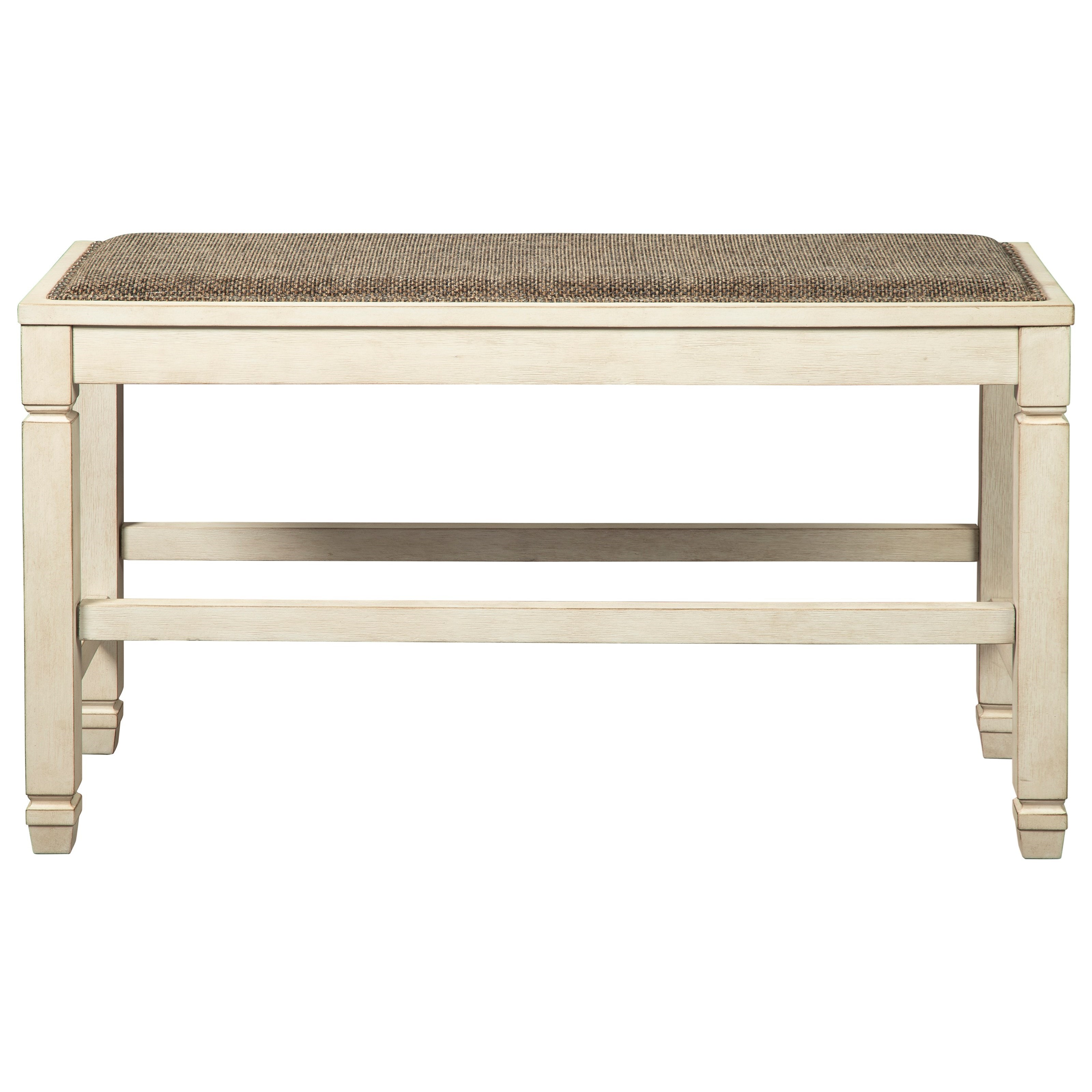 Bolanburg Double Counter Upholstered Bench by Signature Design by Ashley at Household Furniture