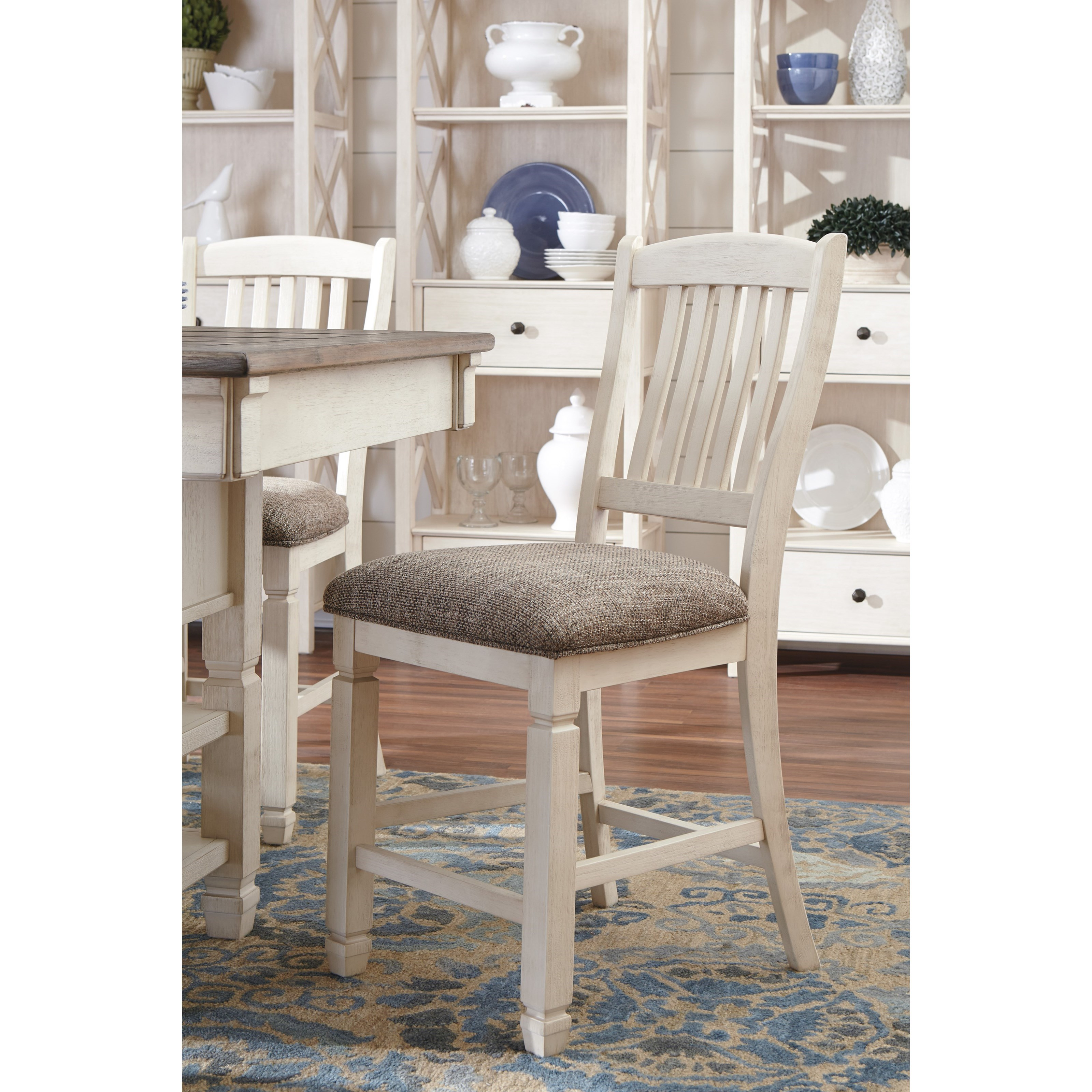 Bolanburg Relaxed Vintage Upholstered Counter Height Stool