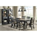Signature Design by Ashley Tory Formal Dining Room Group - Item Number: D736 Dining Room Group 13