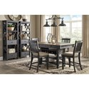 Signature Design by Ashley Tory Casual Dining Room Group - Item Number: D736 Dining Room Group 16