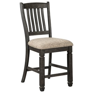 Ashley Signature Design Tyler Creek Upholstered Bar Stool