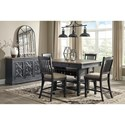 Signature Design by Ashley Tyler Creek Relaxed Vintage Dining Room Server with Concealed Storage