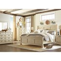 Signature Design by Ashley Bolanburg King Bedroom Group - Item Number: B647 K Bedroom Group 1