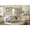 Ashley (Signature Design) Bolanburg California King Bedroom Group - Item Number: B647 CK Bedroom Group 6
