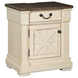 Signature Design by Ashley Bolanburg One Drawer Night Stand