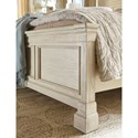 Signature Design by Ashley Bolanburg California King Panel Bed with Lattice Panels