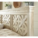 Signature Design by Ashley Bolanburg King Panel Bed with Lattice Panels