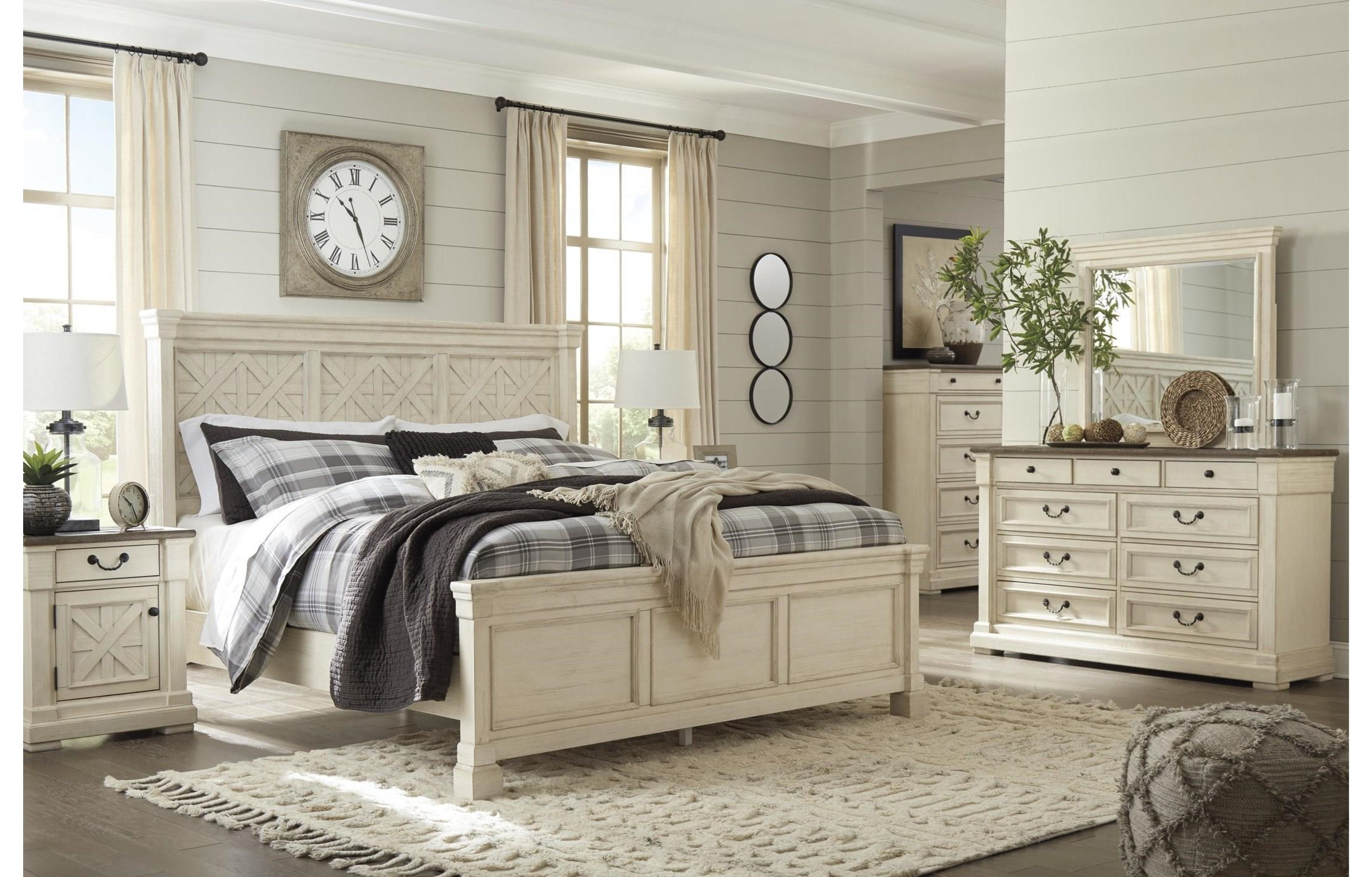 Bolanburg King bedroom group by Signature Design by Ashley at Value City Furniture